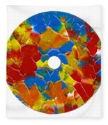 Acrylic  On  Cd  One Fleece Blanket