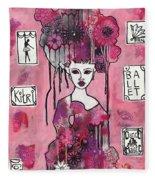 Acrylic Variations Kitri Fleece Blanket
