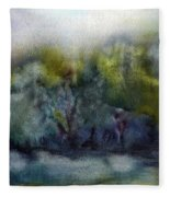 Ada River Fleece Blanket