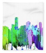 Adelaide Nsw-splash Fleece Blanket