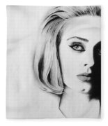 Adele. Fleece Blanket
