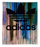 Adidas Plakative - Typografie 01 Fleece Blanket