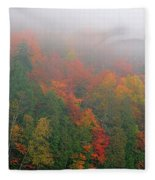 Adirondack Autumn Colors Fleece Blanket