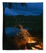 Adirondack Campfire Fleece Blanket