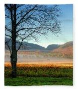 Adirondack Landscape 1 Fleece Blanket