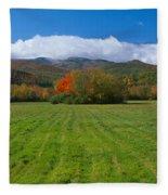Adirondack Mountains, Upper State New Fleece Blanket