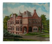 Administration Building Fleece Blanket