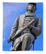 Admiral David Farragut In Farragut Square Fleece Blanket
