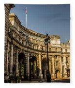 Admiralty Arch. Fleece Blanket