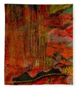 Admiring God's Handiwork IIi Fleece Blanket