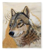 Adobe Gold Fleece Blanket