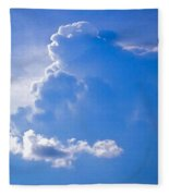 Adoration Of The Heaven Above Fleece Blanket