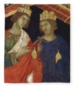 Adoration Of The Magi Fragment 1311 Fleece Blanket