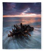 Adrift Fleece Blanket