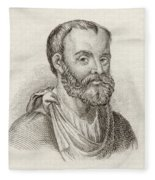 Aelius Galenus Or Claudius Galenus Fleece Blanket