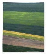 Aerial Abstract Fleece Blanket