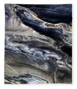 Aerial Photo Hekla Iceland Fleece Blanket