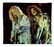 Aerosmith-94-brad-steven-1166 Fleece Blanket