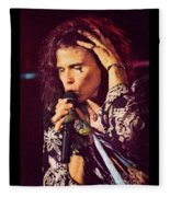 Aerosmith-94-steven-1192 Fleece Blanket