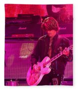Aerosmith-joe Perry-00008 Fleece Blanket