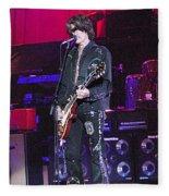 Aerosmith-joe Perry-00022 Fleece Blanket