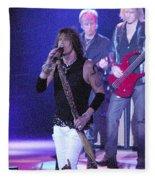 Aerosmith-steven Tyler-00078 Fleece Blanket