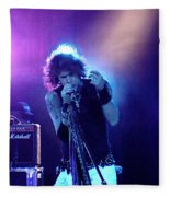 Aerosmith-steven Tyler-00114 Fleece Blanket