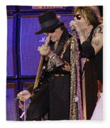 Aerosmith - Steven Tyler -dsc00015 Fleece Blanket