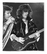 Aerosmith Tyler And Perry Fleece Blanket