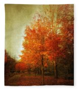 Aflame Fleece Blanket