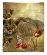 Africa - Innocence Fleece Blanket