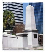 African American History Monument Fleece Blanket