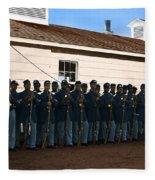 African American Troops In Us Civil War - 1965 Fleece Blanket