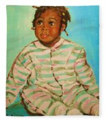 African Cutie Fleece Blanket