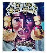 African Queen Fleece Blanket