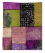 Afrikan Batik II Fleece Blanket