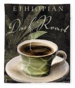 Afrikan Coffees Iv Fleece Blanket