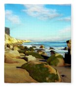 After The Fog Gaviota Fleece Blanket