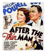 After The Thin Man 1935 Fleece Blanket