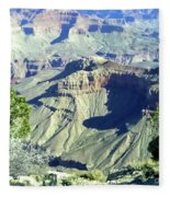 Afternoon View Grand Canyon Fleece Blanket