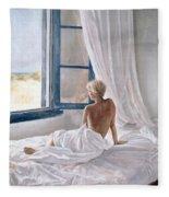 Afternoon View Fleece Blanket