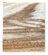 Ag Brushstrokes Sq Fleece Blanket