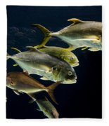 Against The Tide Fleece Blanket