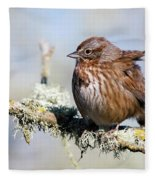 Against The Wind Fleece Blanket