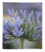 Agapanthus Africanus - Lily Of The Nile 2 Fleece Blanket