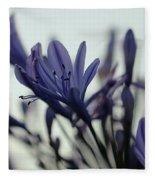Agapanthus - Love Flower -2  Fleece Blanket