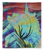 Agat 19 Fleece Blanket