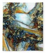 Agate Geode Fleece Blanket