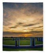 Aggie Bonfire Memorial Fleece Blanket