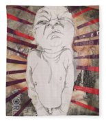 Aggravated Baby Fleece Blanket